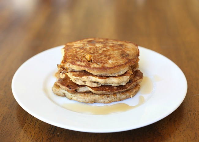 650 x 465 oatmeal scotchie pancakes photo by Vicky McDonald