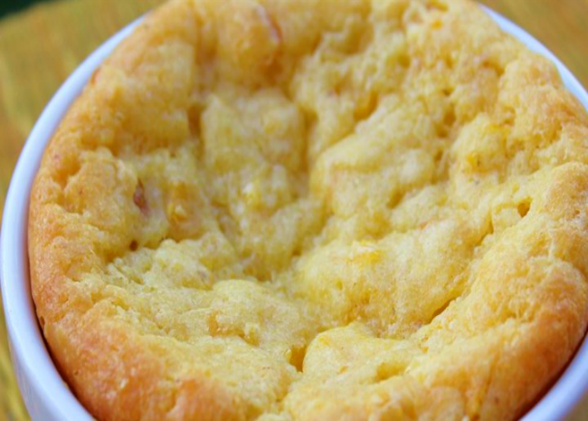 awesome and easy creamy corn casserole  photo by melissa goff