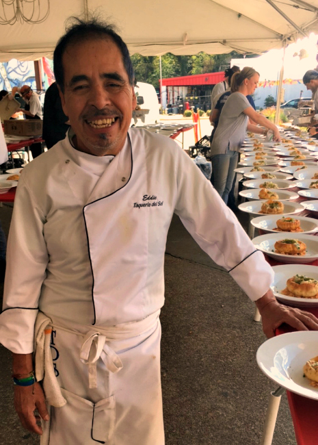 chef eddie hernandez photo by Leslie Kelly