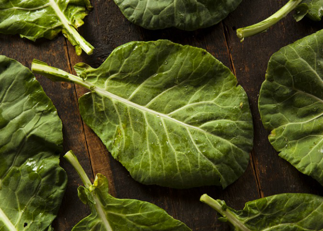 Raw Collard Greens