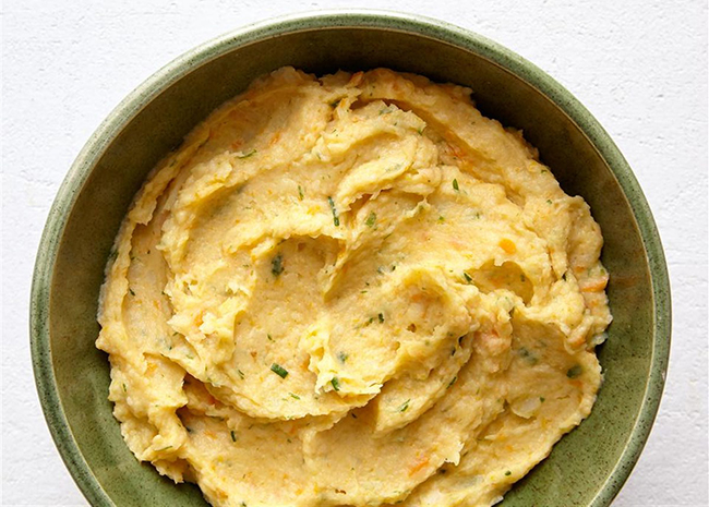 Parsnip and Carrot Puree