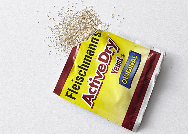 Active Yeast in a packet