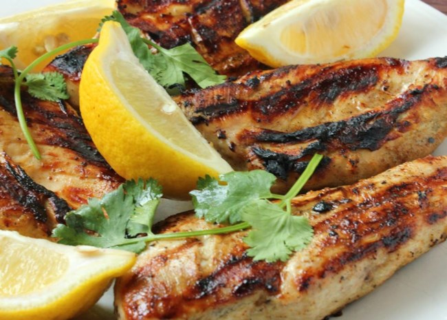 Greek Style Garlic Chicken Breast