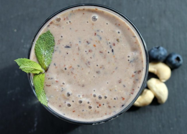 Dreamy Cashew Butter Smoothie