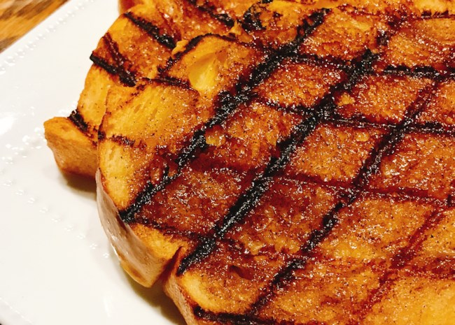 Grilled Cinnamon Toast