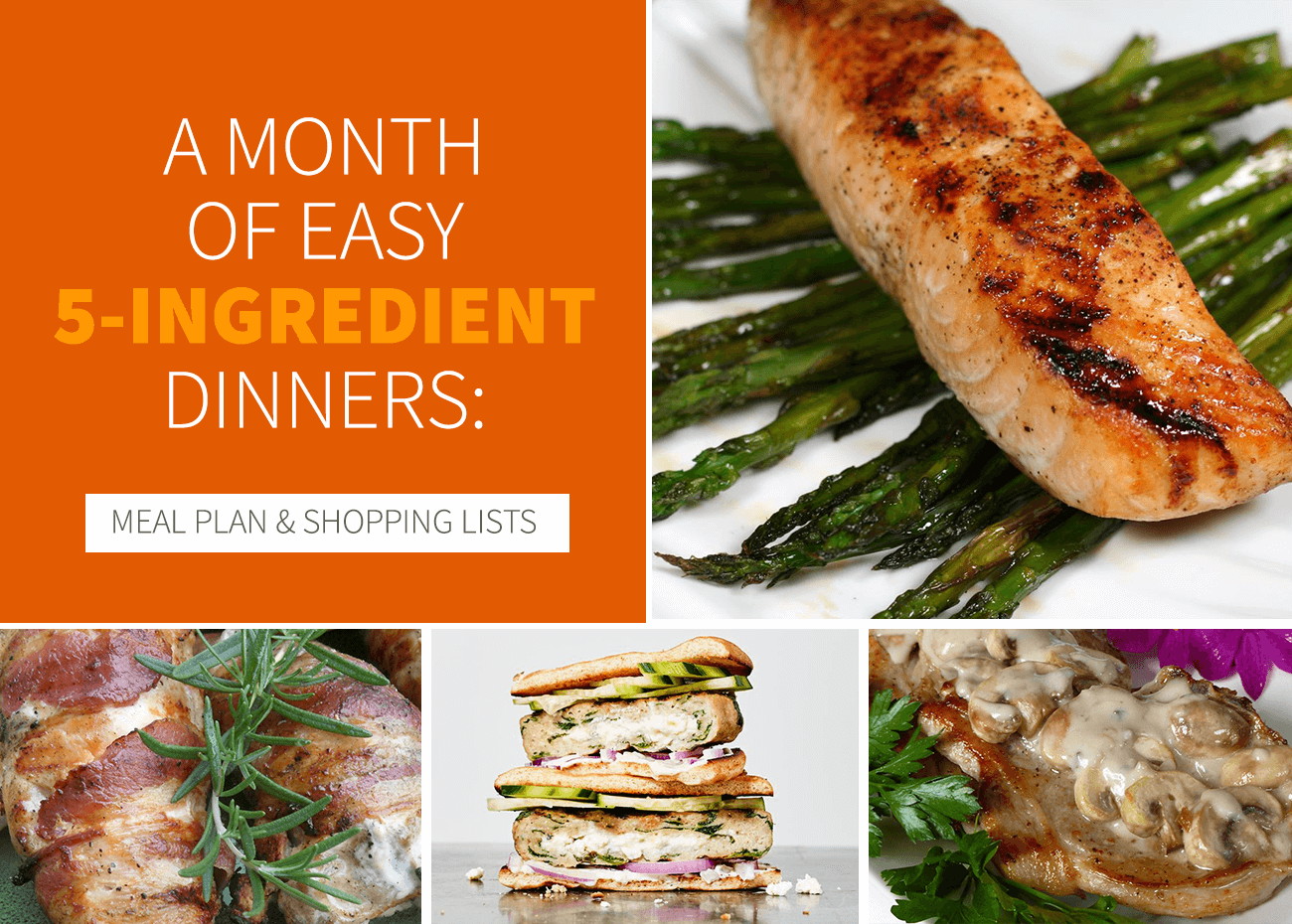 Easy 5-Ingredient Dinners