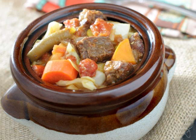 Mexican Beef and Vegetable Stew