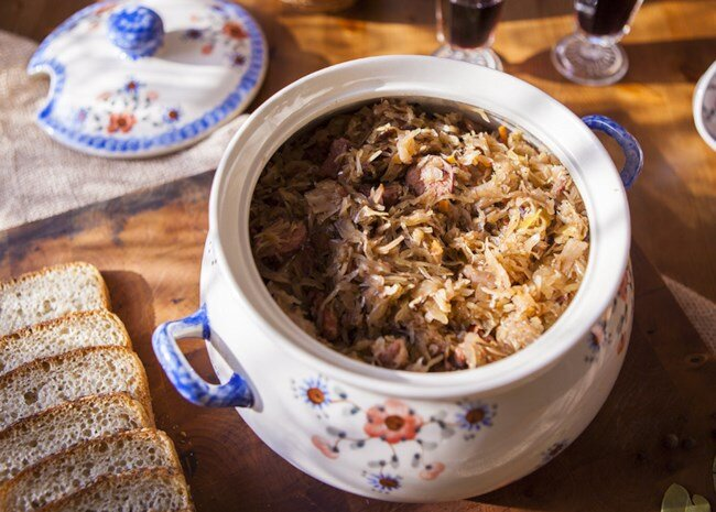 Bigos (Polish Hunter's Stew)