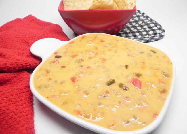Instant Pot® Sausage Queso