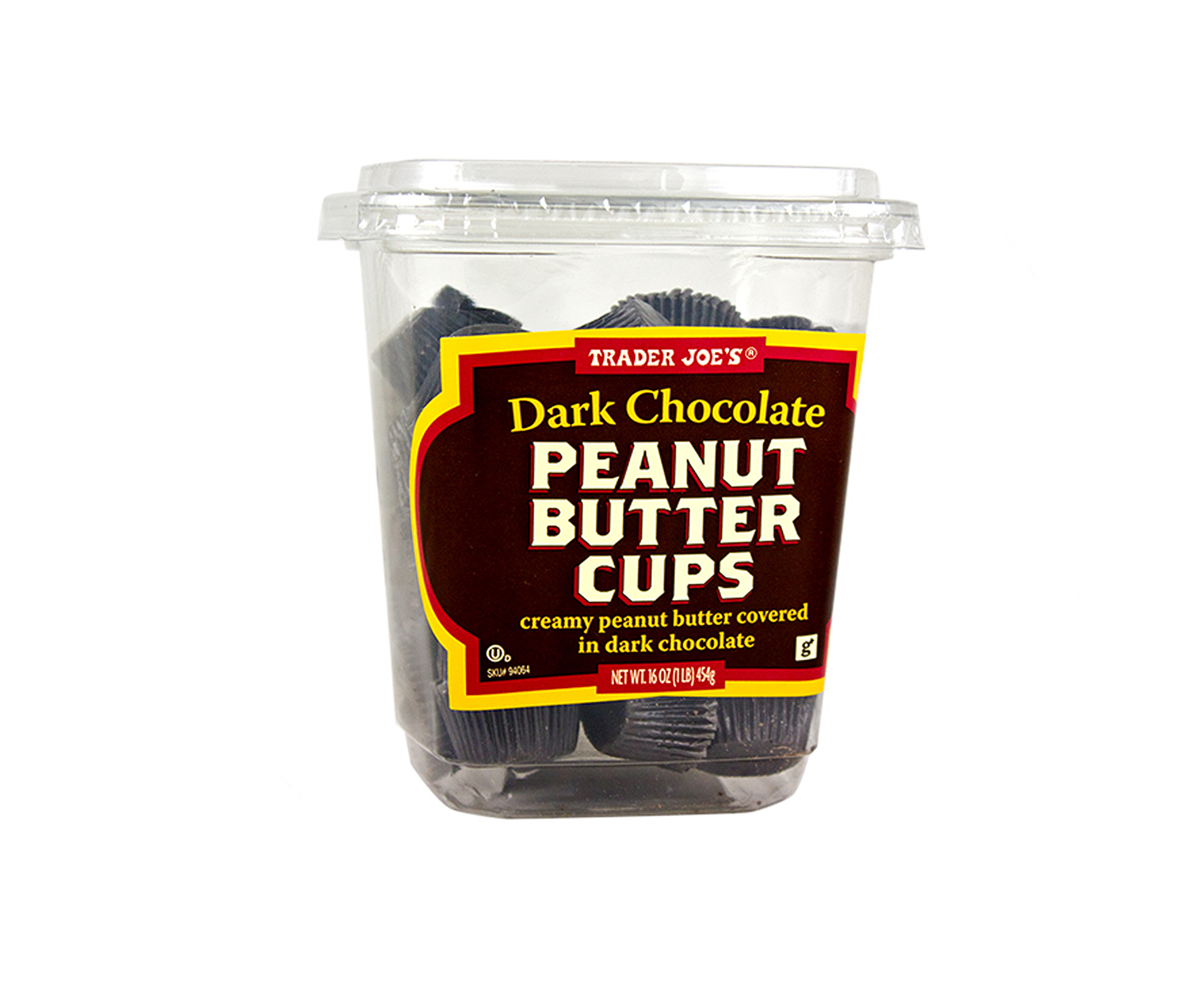 trader joes dark chocolate peanut butter cups