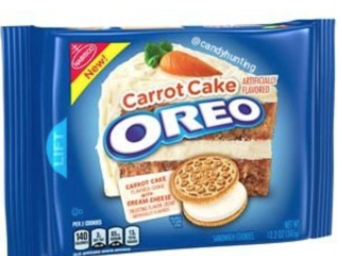 It Looks Like Carrot Cake Oreos Are Going to Be a Thing