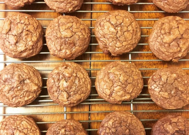 Easy Brownie Mix Cookies by Erica Cucciniello Clarke