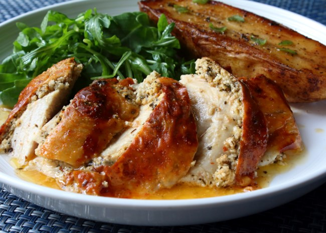 Feta Roast Chicken