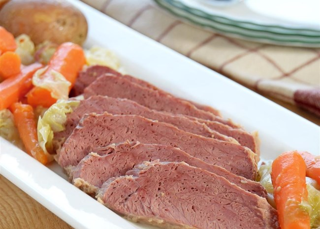 Chef Johns Corned Beef and Cabbage