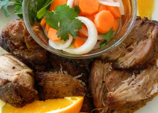 Orange and Milk-Braised Pork Carnitas