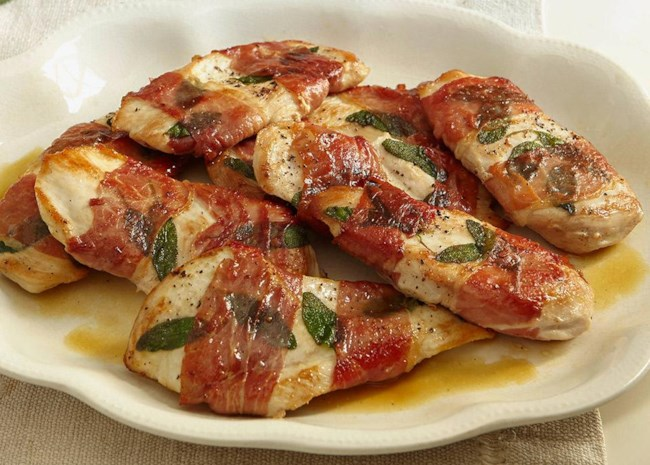 Sandy's Chicken Saltimbocca