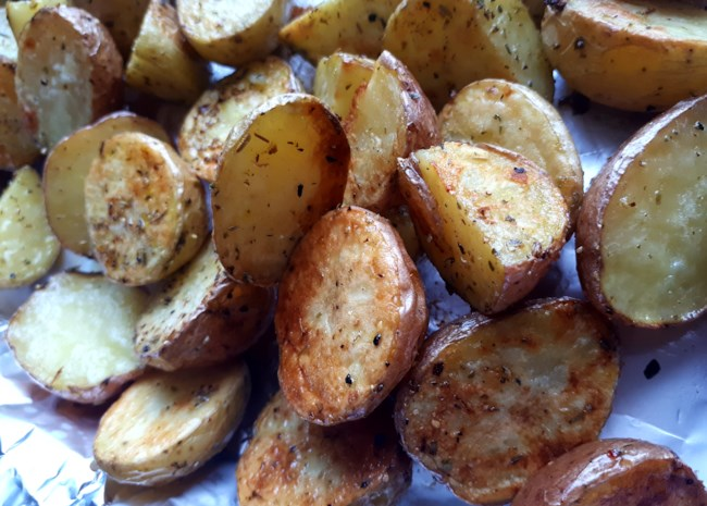 """""""Special"""" Roasted Potatoes"""