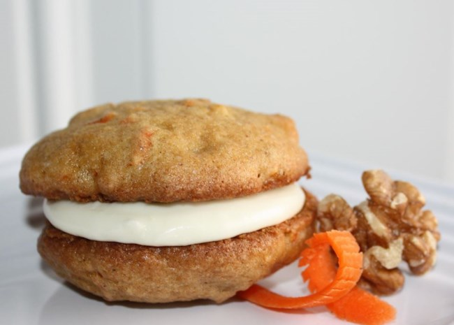 Carrot Cake Cookies with Pineapple