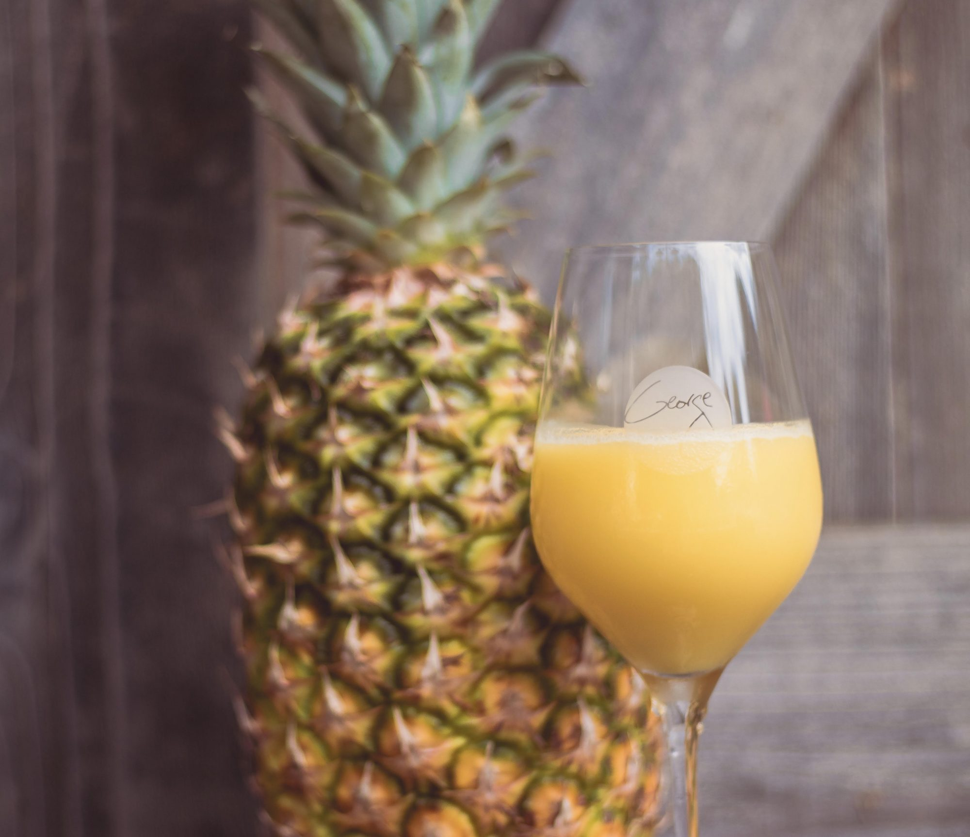 mimosa by pineapple