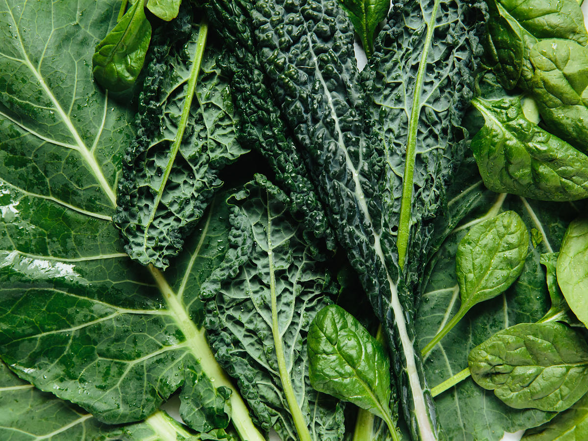 Green Kale and Spinach