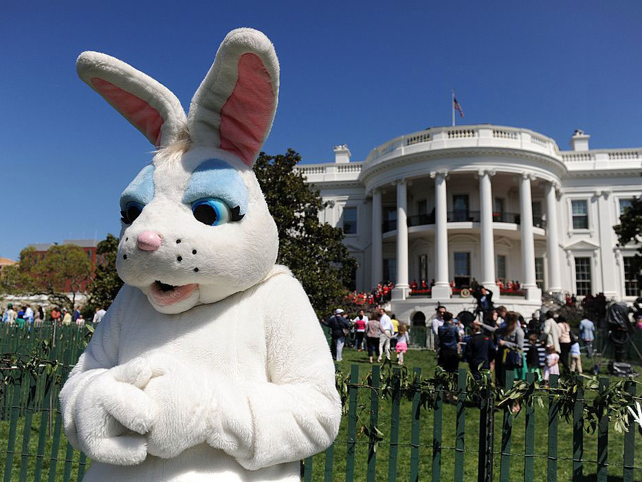 white house easter