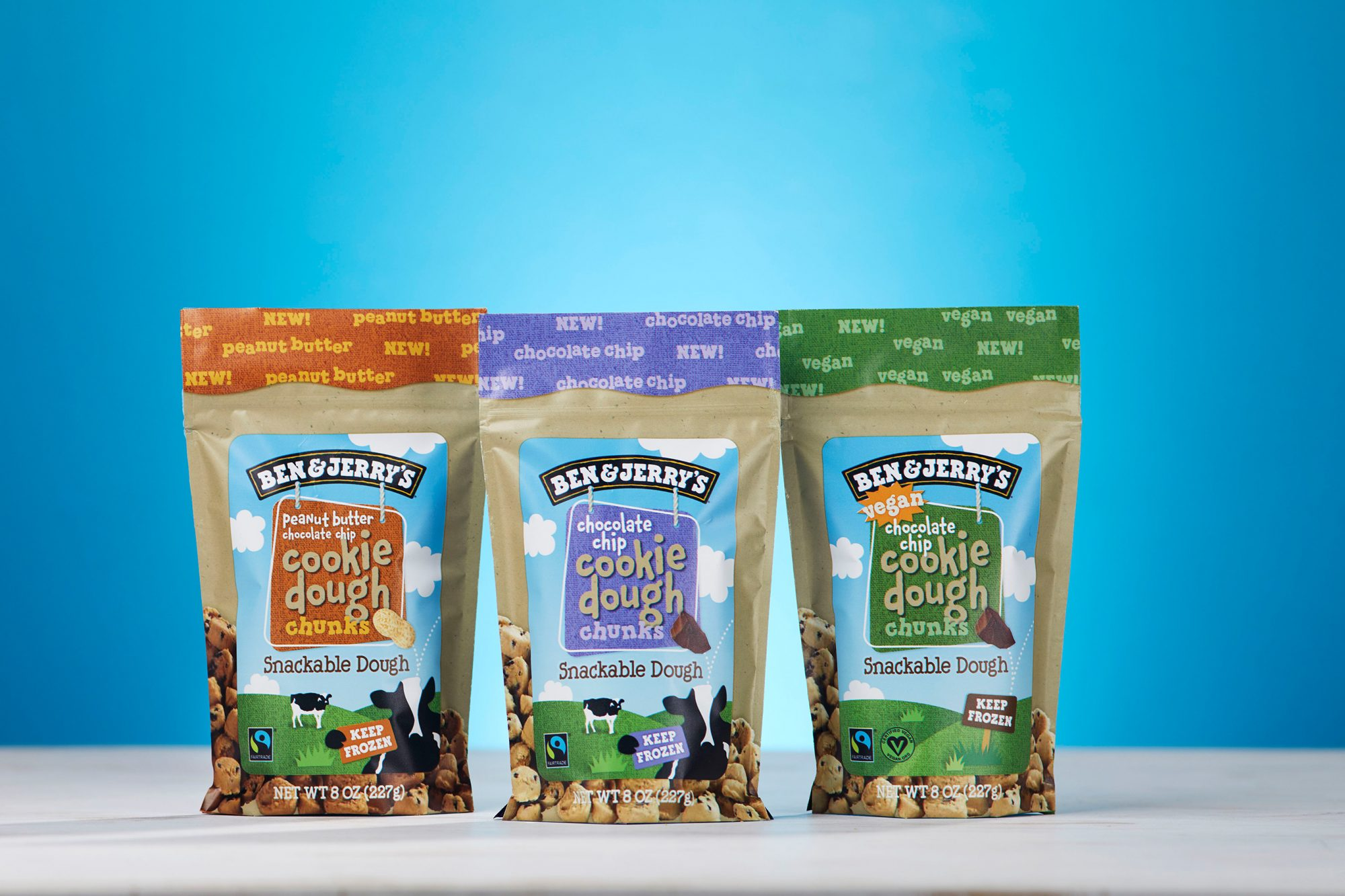 Ben & Jerry's Cookie Dough Snacks