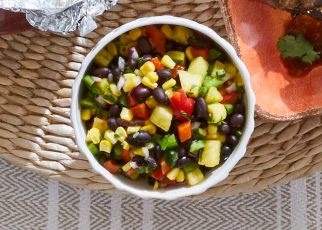 pineapple salsa