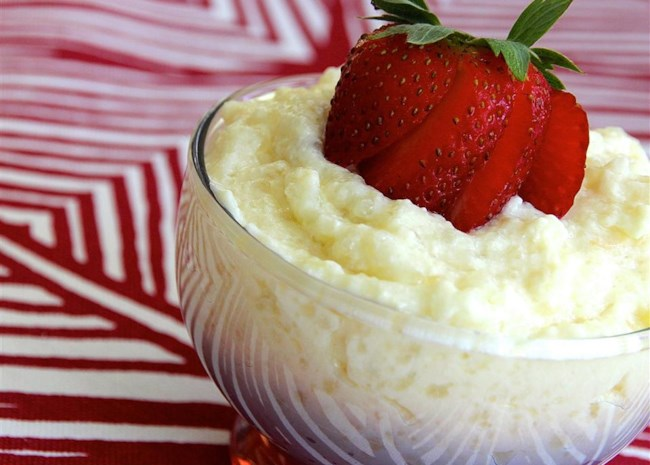 Slow Cooker Vanilla Tapioca Pudding