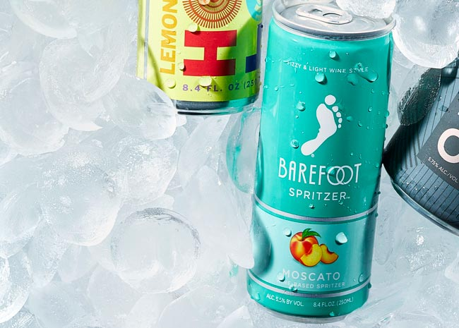 barefoot wine can spritzer