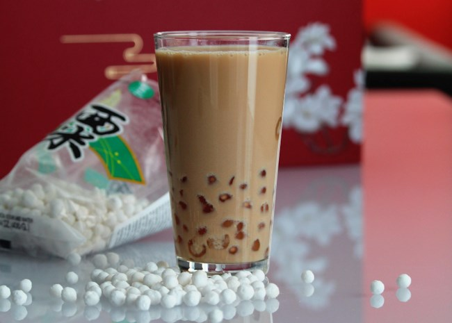 Boba (Coconut Milk Black Tea with Tapioca Pearls)