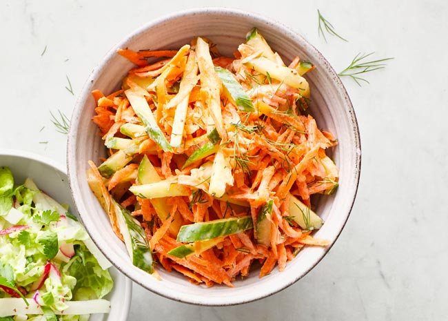 carrot cole slaw