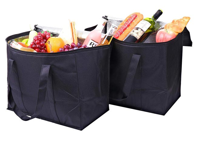 Insulated Thermal Grocery Tote Bags