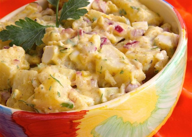 Brown Mustard Potato Salad
