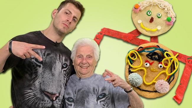 ross smith and his granny