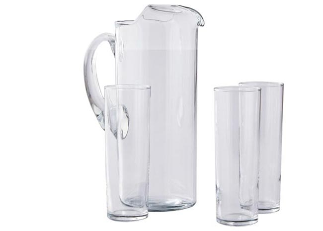 better homes and gardens brunch pitcher and glass set
