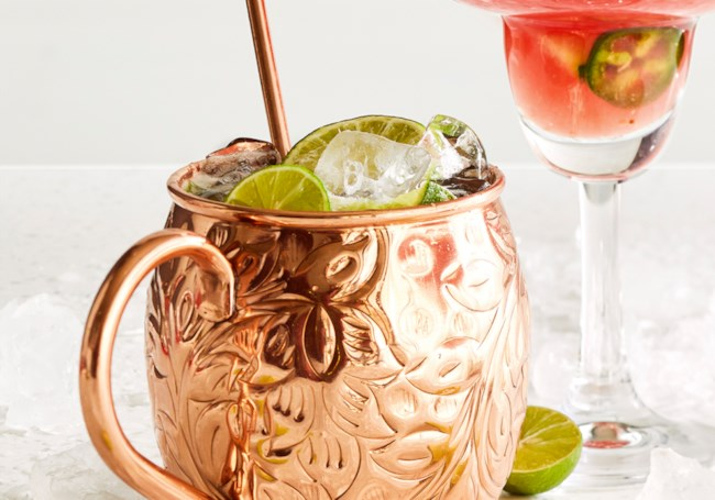 Apricot Moscow Mule