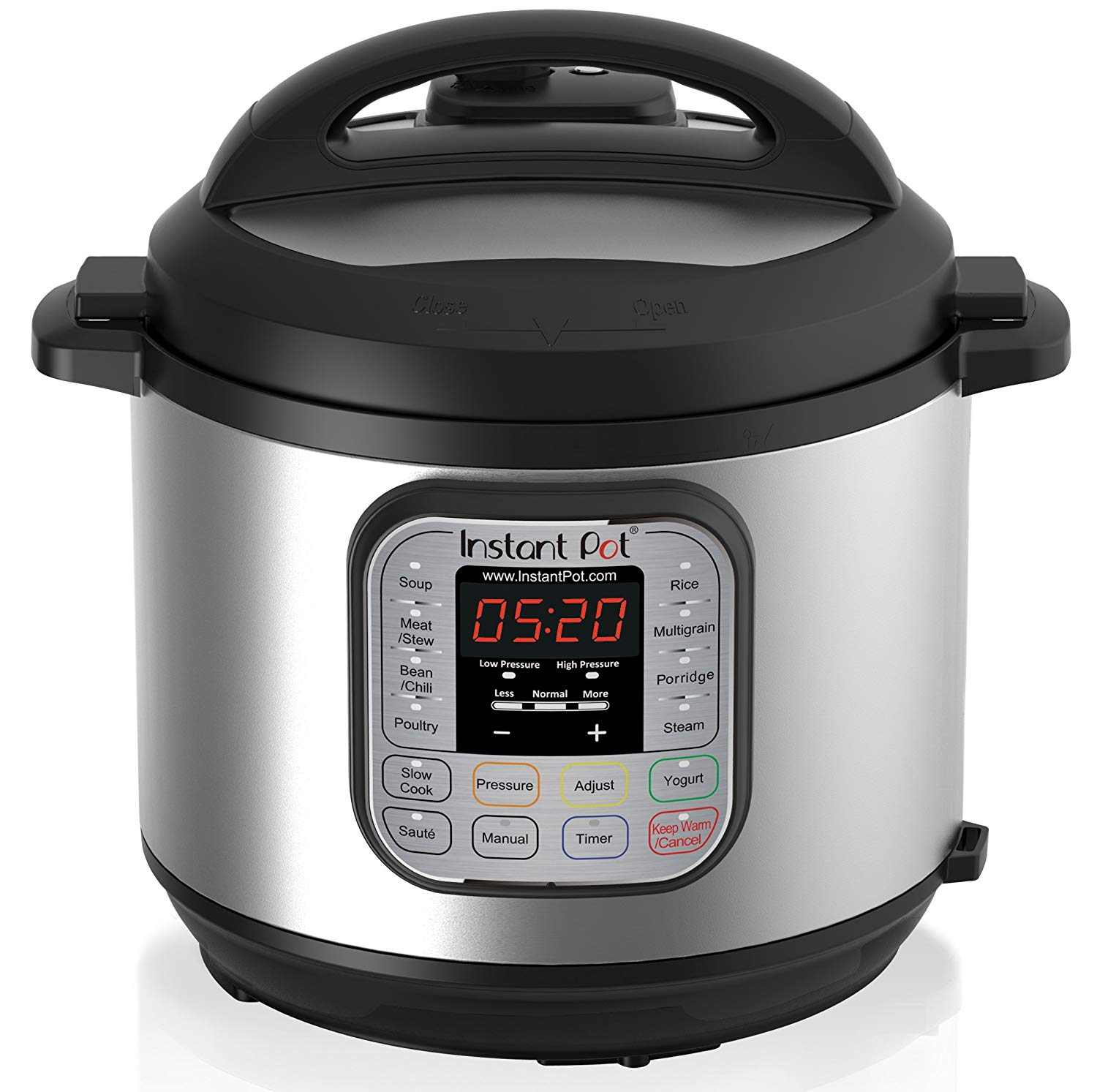 nstant Pot DUO60 6 Qt 7-in-1 Multi-Use Programmable Pressure Cooker
