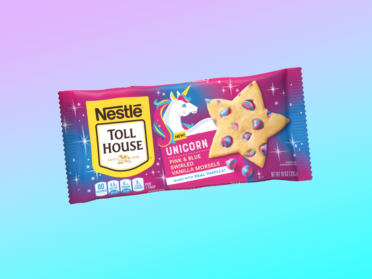 these new unicorn morsels just made baking way more fun