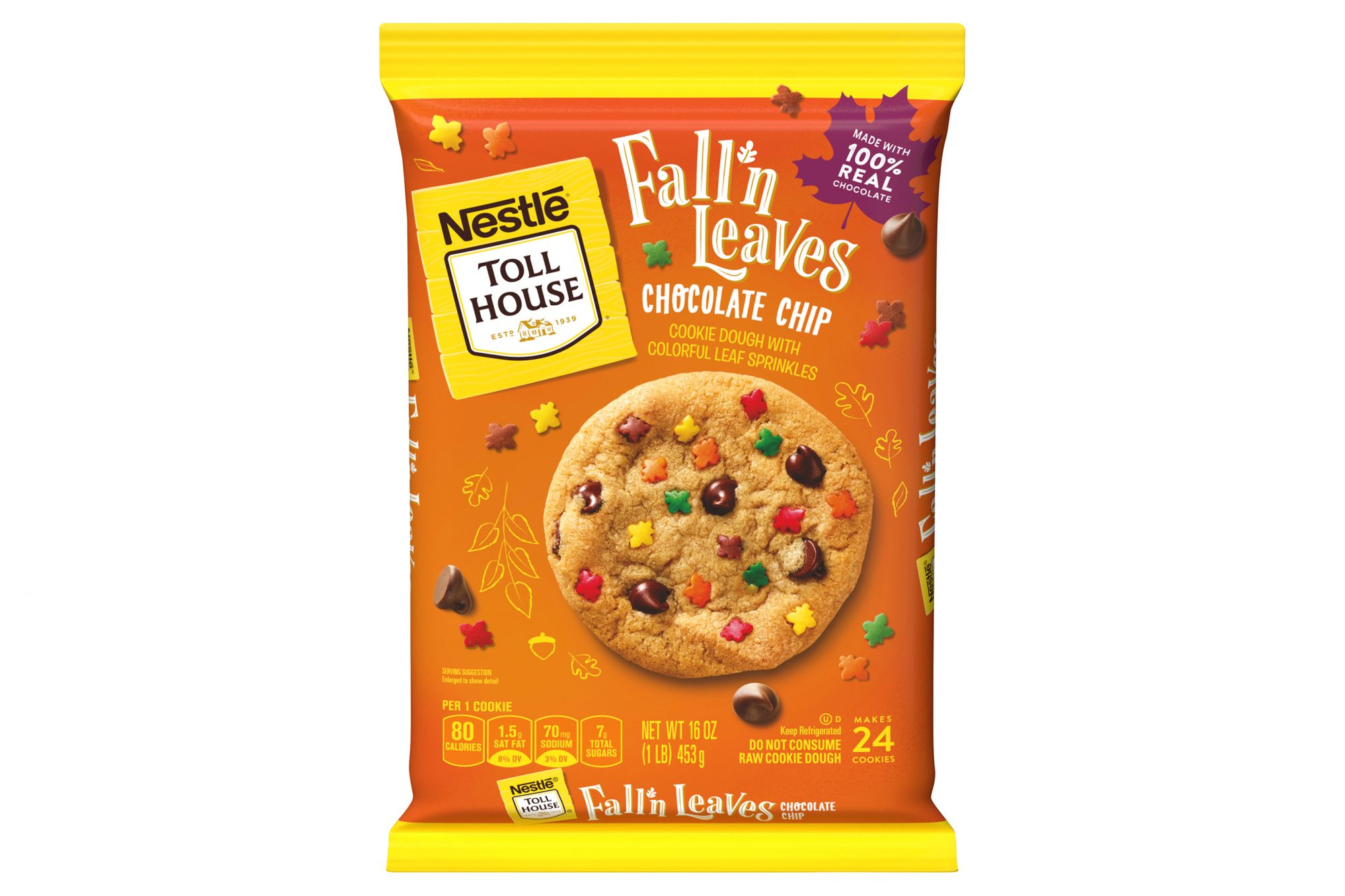 nestle tollhouse autumn cookies