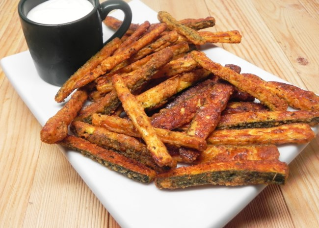 Quick and Easy Parmesan Zucchini Fries
