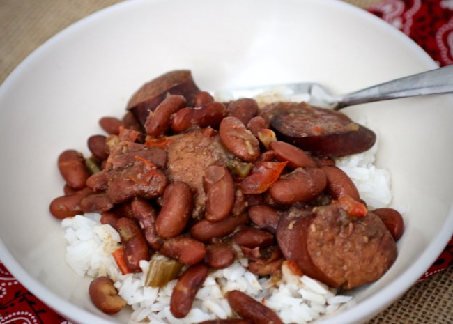 Instant Pot(R) Red Beans and Rice