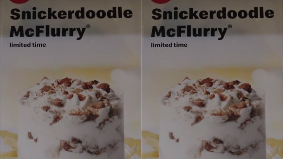 McDonald's Snickerdoodle McFlurry