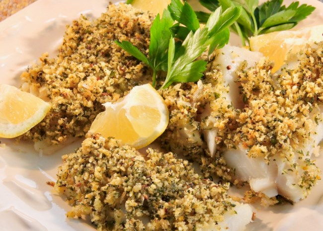 Easy Baked Fish with Lemon