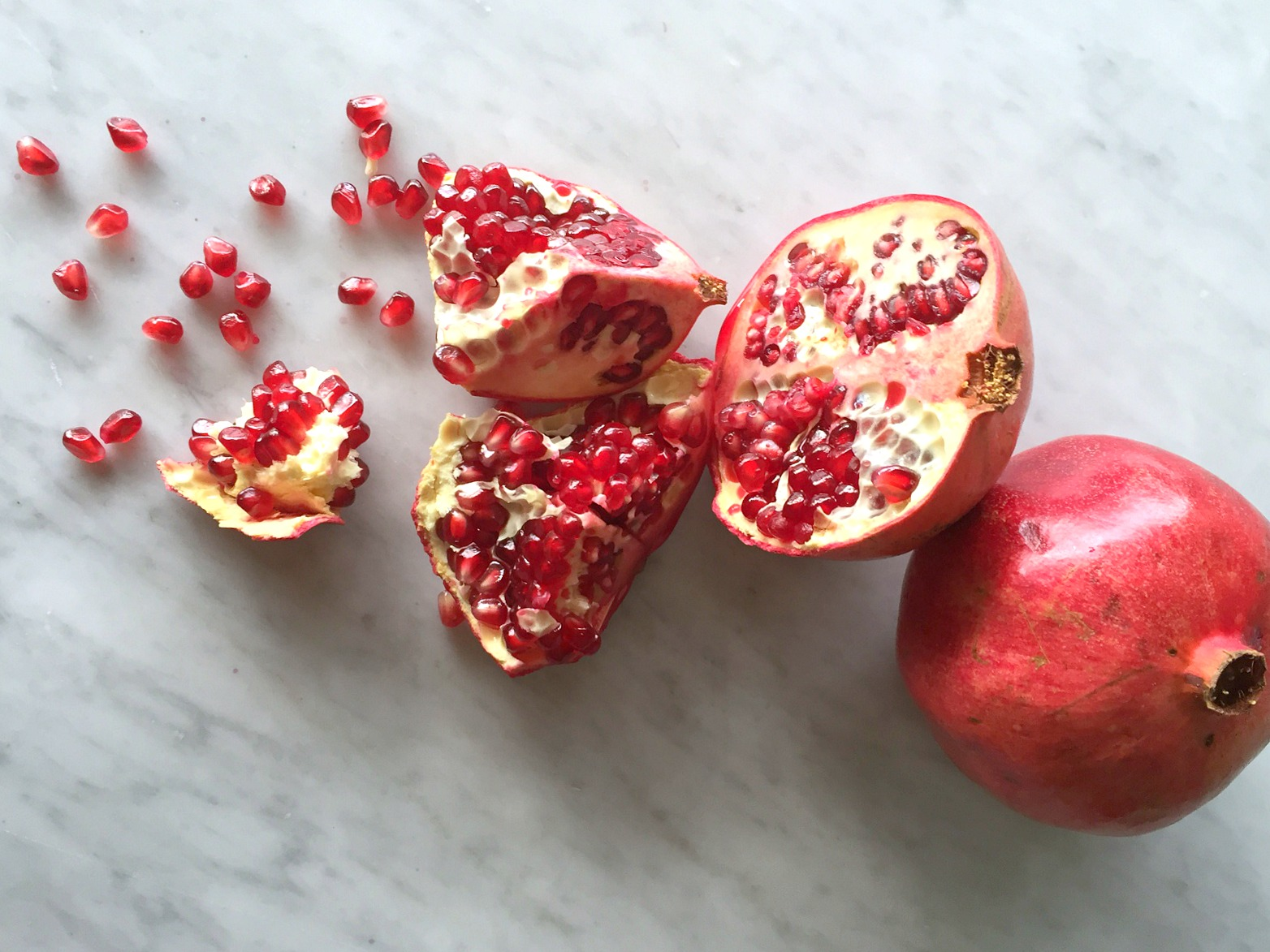 Pomegranates and Seeds