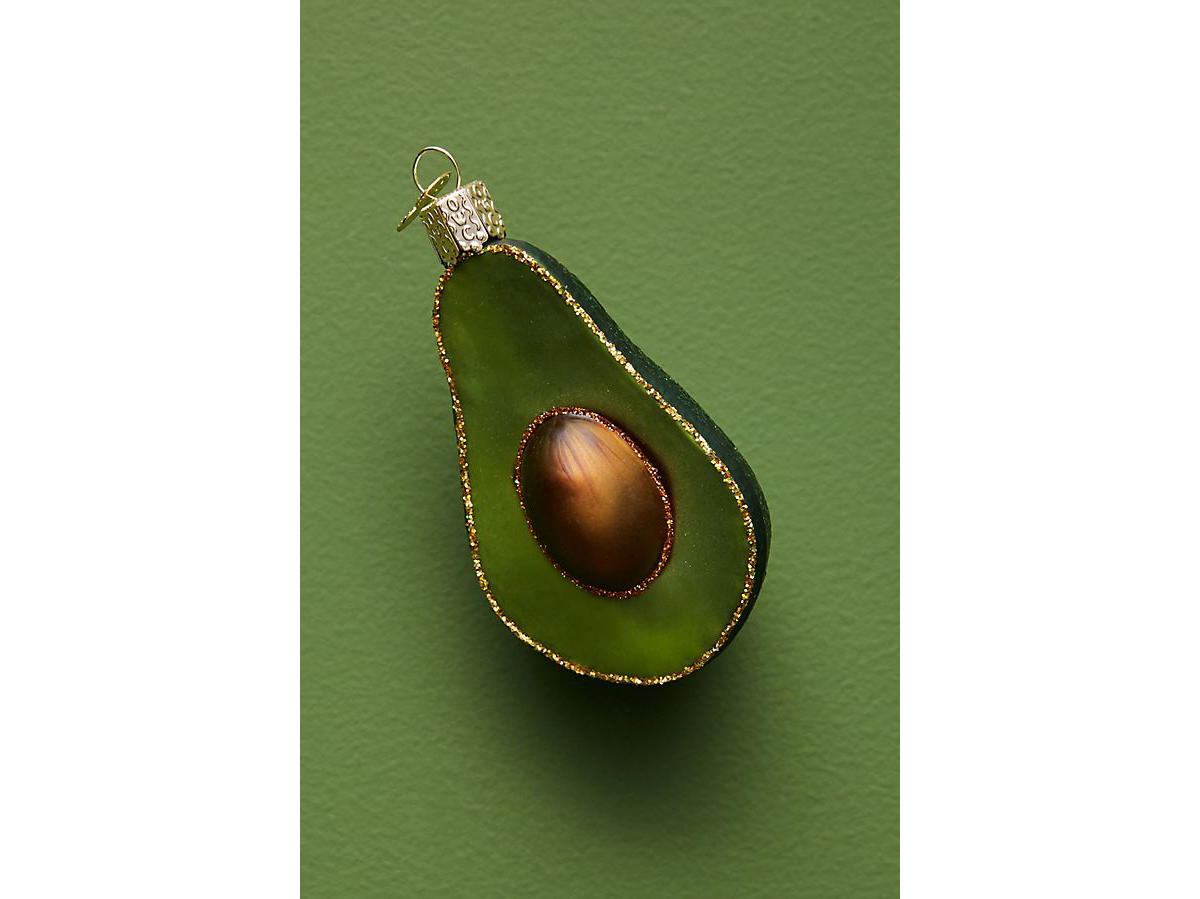 avocado ornament