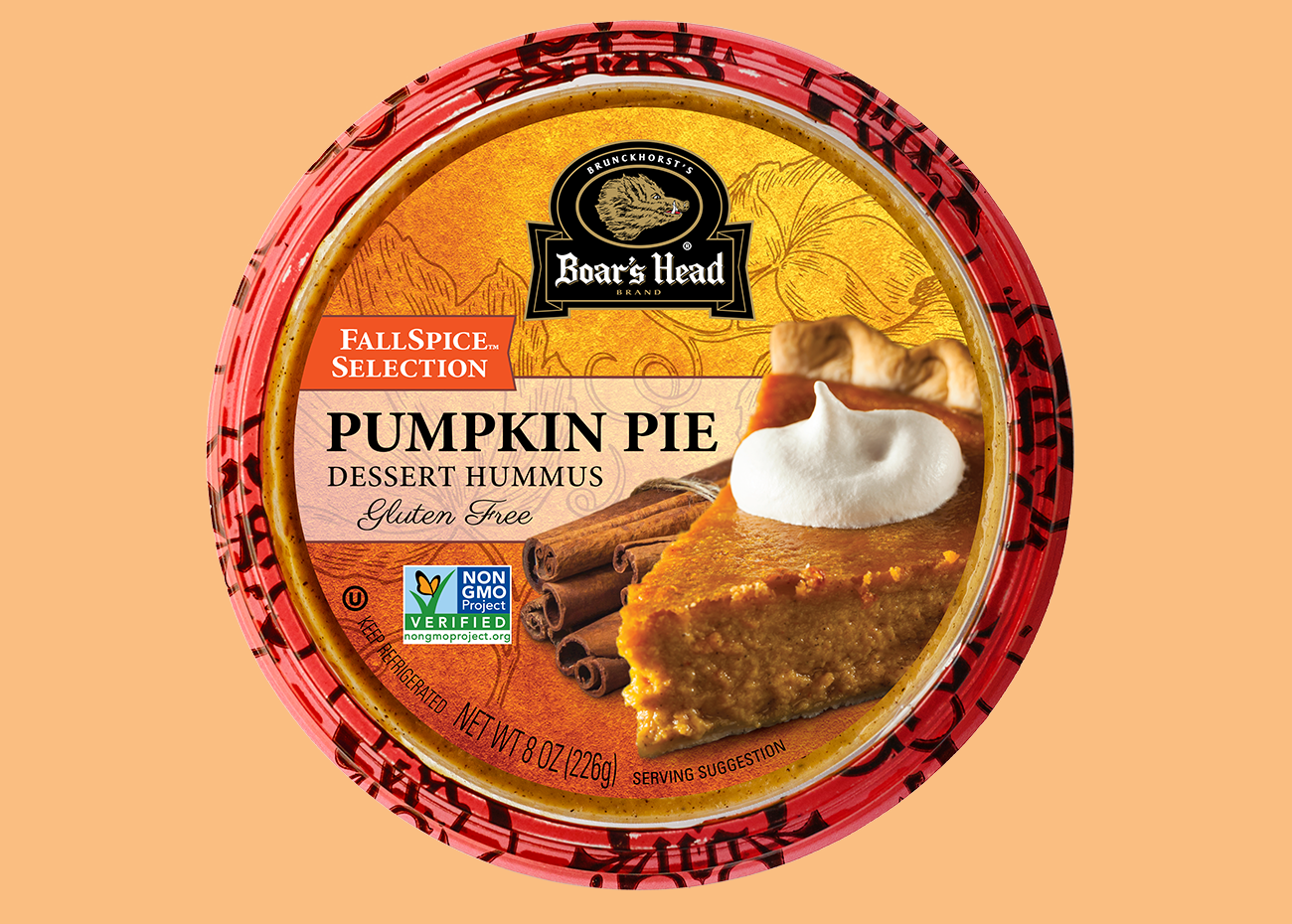 Boar's Head Pumpkin Pie Hummus
