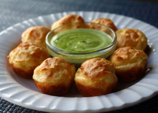 Baked Potato Puffs