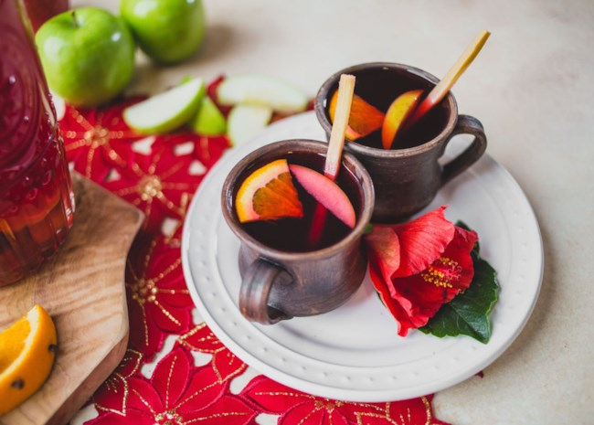 Mexican Christmas Punch (Ponche Navideno)