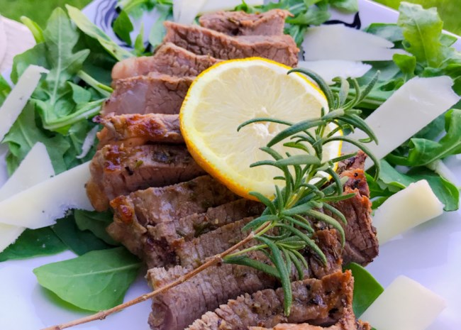 Oven-Baked Beef Tagliata