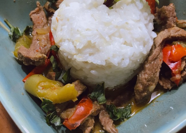 Instant Pot® Beef Panang Curry